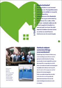 Hethuis Nieuwsbrief 2015-1 omslag